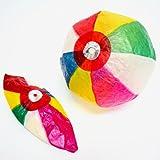 紙風船(紙フーセン・紙ふうせん) 約20cm 10枚