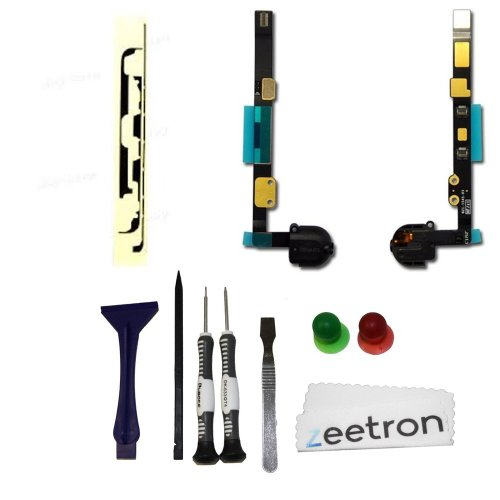 Zeetron Ipad Mini Headphone Jack Replacement Flex Cable + Tools + Adhesive