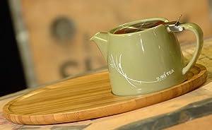 Suki Loose Leaf Teapot - 18oz / 532ml with Bamboo Tea Tray
