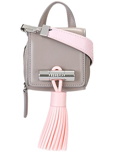 kenzo-womens-f661sa003l21-grey-pink-leather-shoulder-bag