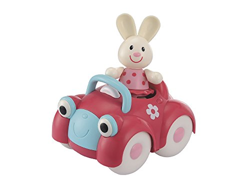 Early Learning Centre Toybox Rosie Rabbit and Motor Car Baby Toy - Auditory and Tactile Interaction For Children -Engages and Employs Creativity - For On-The-Go or At-Home Play - Ages 12 Months and Up - 1