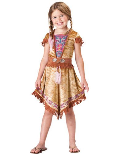 4 - Indian Maiden Child Sz 4