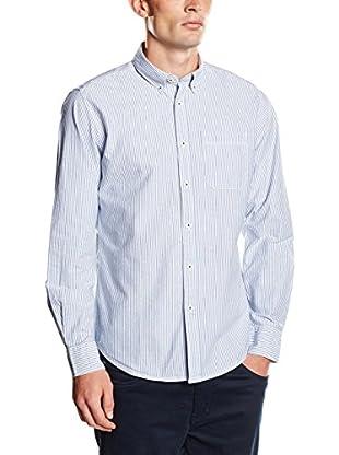 Springfield Camisa Hombre Oxford (Azul)