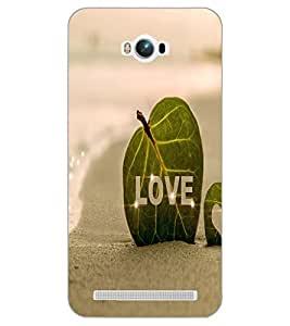 ASUS ZENFONE MAX LOVE Back Cover by PRINTSWAG