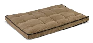 "Bowsers Luxury Dog Crate Mattress, Houndstooth, SML 17""x23""x3"" from Bowsers"
