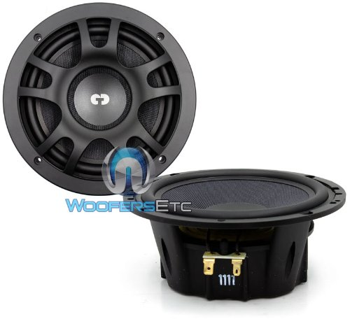 "Es-Mo 6 - Cdt Audio 6.5"" 2-Way Midrange Speakers"