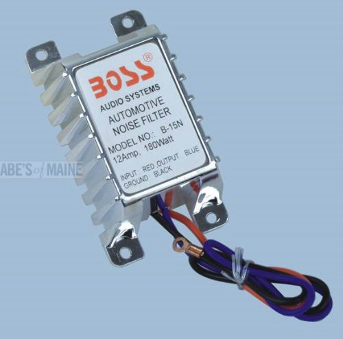 BOSS AUDIO B15N  12 Amp Automotive Noise Suppressor