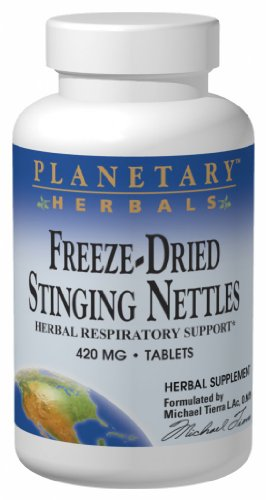 Planetary Formulas Freeze-Dried Stinging Nettles, 420 mg, Tablets, 120 tablets (Pack of 2)