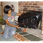 Save Energy - Stop Fireplace Drafts