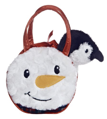 Aurora Plush Fancy Pals Mr. Snowman Pet Carrier