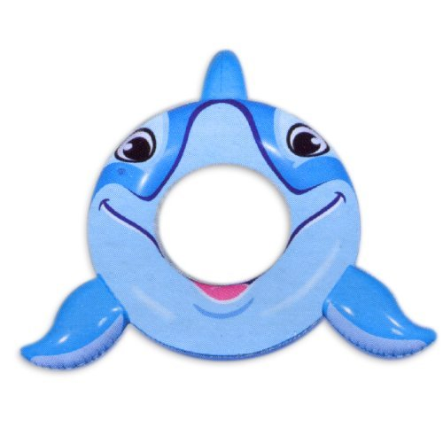 Dolphin Swim Ring for Pool Time Fun