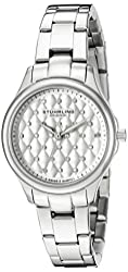 Stuhrling Original Women's 783.01 Symphony Analog Display Quartz Silver Watch
