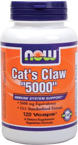 NOW Foods Cat'S Claw 5000, 120 Vcaps