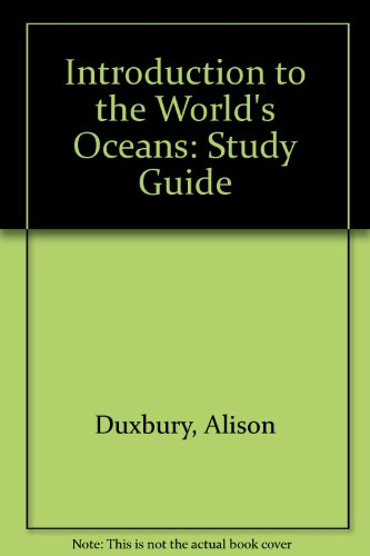 Introduction to the World's Oceans: Study Guide
