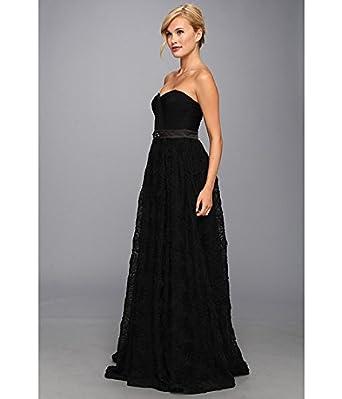 Adrianna Papell Women's Ball Gown Black Dress 4