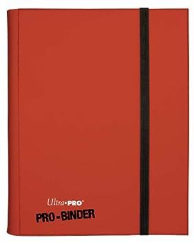 Ultra Pro - 330500 - Jeu De Cartes - Pro-binder - Rouge - C6