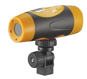 The new AT68 HD 1080P Waterproof outdoor sports camera / motorcycle bike helmet versatile,Two black/yellow color