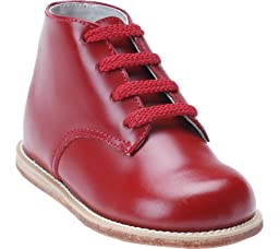 Josmo - Baby Walker Leather Dress Shoe, Burgundy 38215-3.5MUSInfant