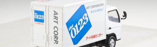 プレイキャスト 1/32 三菱ふそうキャンター アート引越しセンター