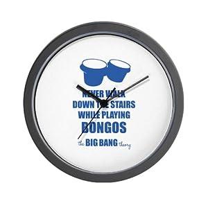 The Big Bang Theory - Bongos Wall Clock