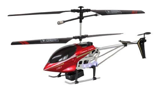 RCヘリコプター カメラコプター レッド