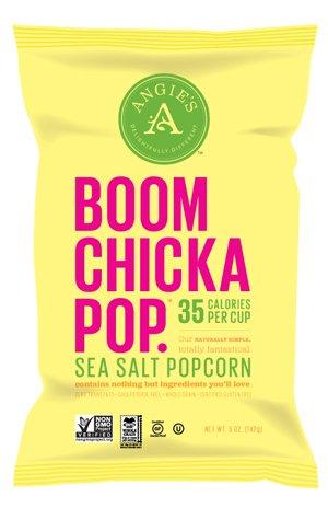 Angie's BOOMCHICKAPOP Sea Salt Popcorn, 4.8 Ounce Bag (Angies Popcorn Seasalt compare prices)