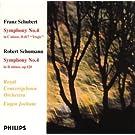 Schubert : Symphonie n� 4 / Schumann : Symphonie n� 4