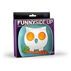Funny Side Up Owl Shaped Egg Mold Novelty Egg Ring
