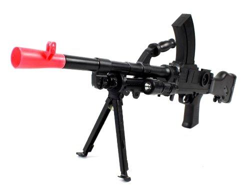 Velocity Airsoft Type 99 G11 Spring Airsoft Rifle Gun Wwii World War Ii Fps-200 W/ Bipod, Led Flashlight