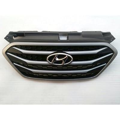 Hyundai Motors Genuine 863502S500 Front Hood Chrome Radiator