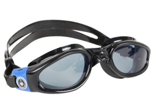 Aqua Sphere Kaiman Swim Goggle, BK-BL Tinted Lens