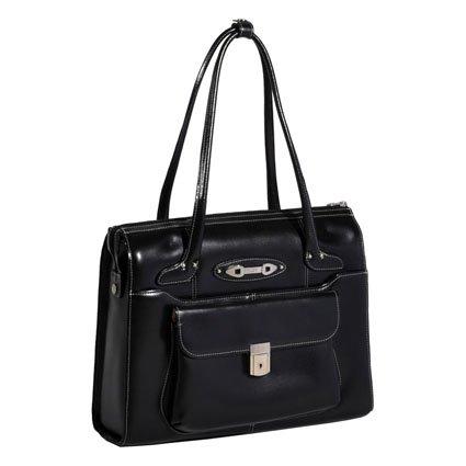 mcklein-usa-womens-high-gloss-leather-wenonah-briefcase-black