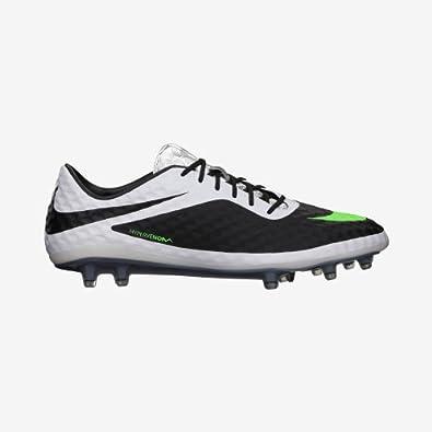 Nike HYPERVENOM PHANTOM FG Mens Soccer Black White Neo Lime US sz. by Nike