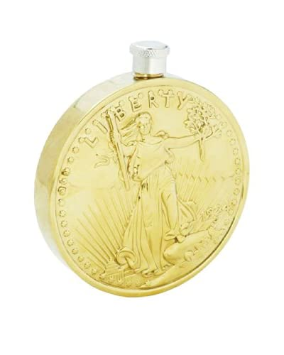Twenty Dollar Coin Flask