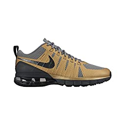 Nike Men\'s Air Max TR180 Mtllc Gold/Blk/Cl Gry/Anthrct Training Shoe 11 Men US