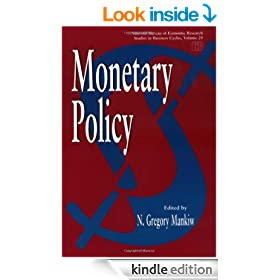 Monetary Policy (National Bureau of Economic Research Studies in Income and Wealth)