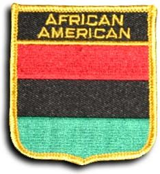 African American - Shield Patch (Pan African Patch compare prices)