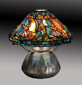 Amazon Com Tiffany Koi Fish Table Lamp This Museum