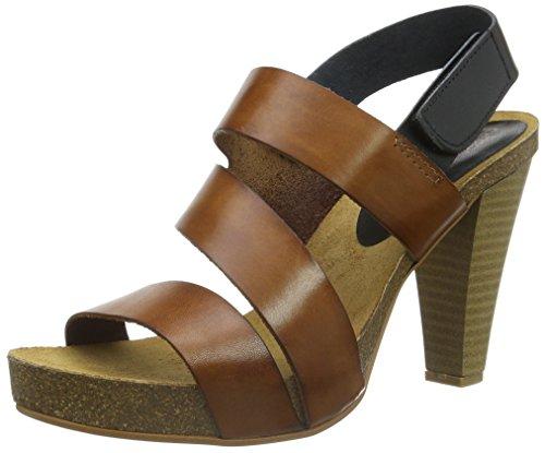 Shoe Biz 1423, Sandali con Zeppa Donna, Marrone (VQC/10), 39 EU