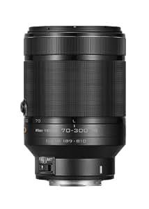 Nikon 1 NIKKOR VR 70-300mm f/4.5-5.6 Lens (Black)