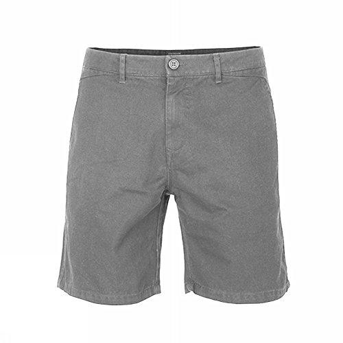 Isolid -  Pantaloncini  - Uomo grigio X-Large