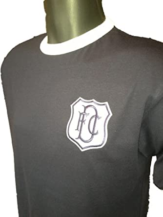 retro dundee 1950s home football t shirt new sizes s