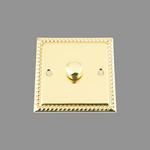 light-dimmer-switch-1-gang-push-on-off-400w-polished-brass-georgian-1-gang-2-way-10-amp