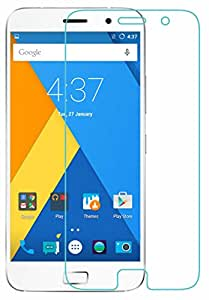 Lenovo ZUK Z1 Tempered Glass, Lenovo ZUK Z1 Screen Protector with [Cutout for Proximity Sensor], 0.3mm Thickness, 9H Hardness, 2.5D Curved Edge, Reduce Fingerprint, No Rainbow, Bubble Free & Oil Stains Coating with Alcohol wet cloth pad & clean micro fibre Dry cloth, Anti Explosion Tempered Glass Screen Protector for Lenovo ZUK Z1 by CareFone