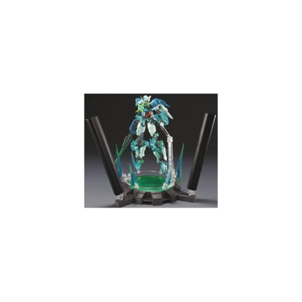 Quantum Burst Version with Black Light Base Set Exclusive by Bandai Robot Damashii Gundam 00 Quanta T Qan