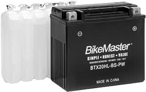 BikeMaster Maintenance Free Battery - BTX12-BS 781350