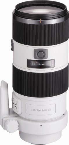 Sony 70-200mm f/2.8 SSM Lens for Sony Alpha Digital SLR Camera