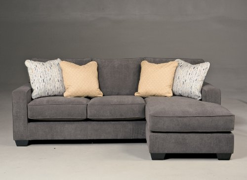 Hodan Marble Collection Fabric Upholstery Contemporary Track Arm Sofa Chaise front-933065