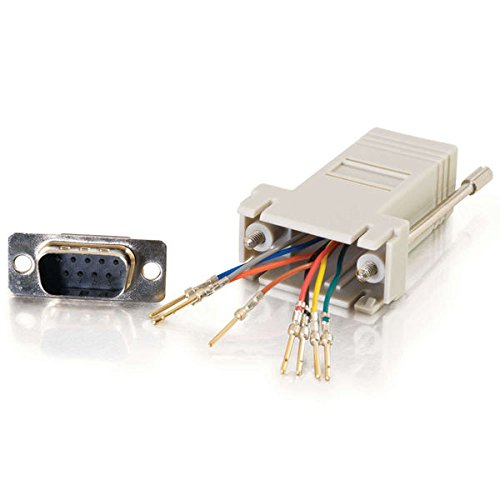 Купить C2G / Cables To Go 02945 RJ45 to DB9 Male Serial RS232 Modular Adapt