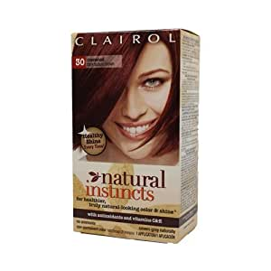 Clairol Natural Instincts Hair Color Rosewood Dark Auburn Brown